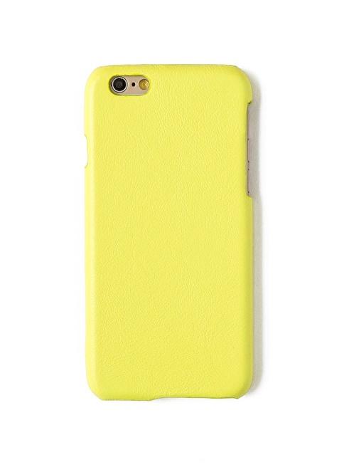 Leather & Paper iPhone 6/6S Deri Telefon Kılıfı Sarı